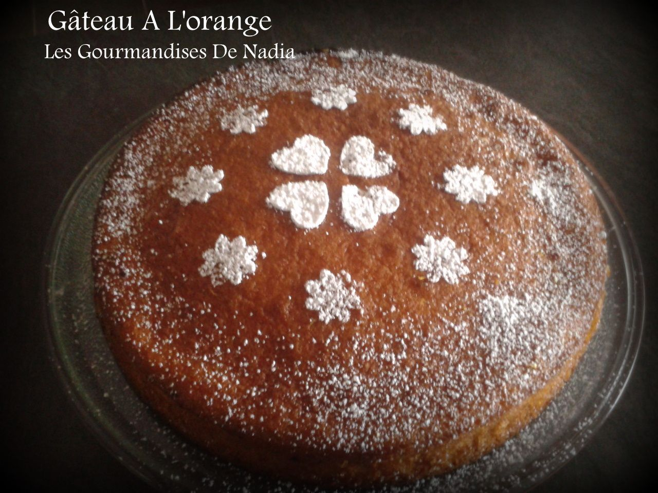 GÂTEAU A L'ORANGE