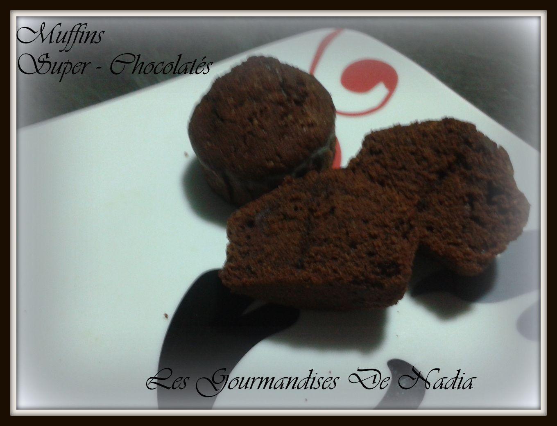 MUFFINS SUPER-CHOCOLATES