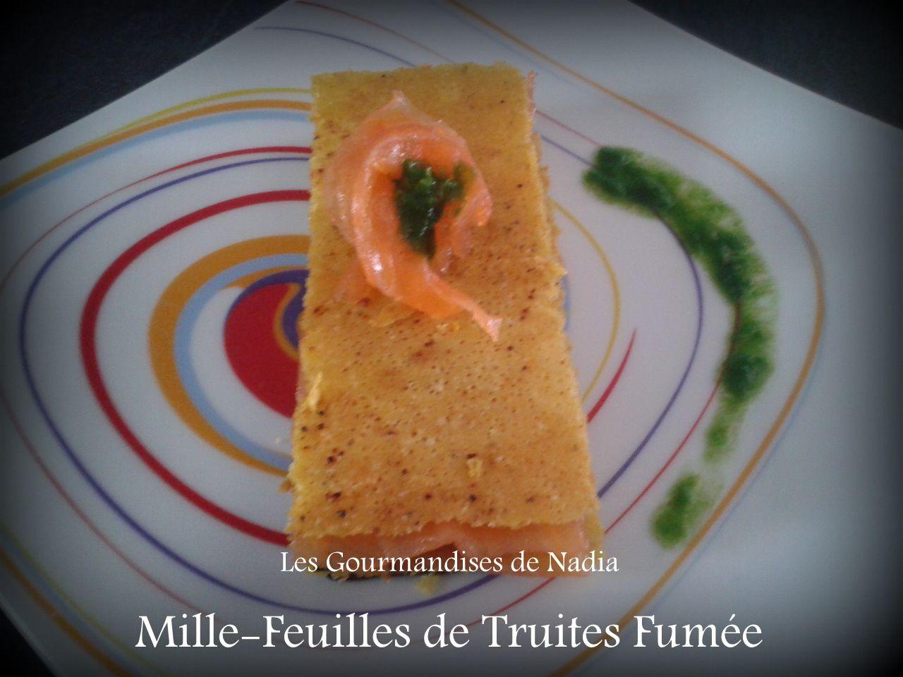 MILLE-FEUILLES DE TRUITES FUMEE