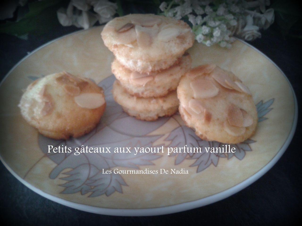 PETITS GÂTEAUX AU YAOURT PARFUM VANILLE