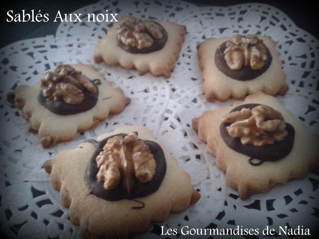 BISCUITS AUX NOIX