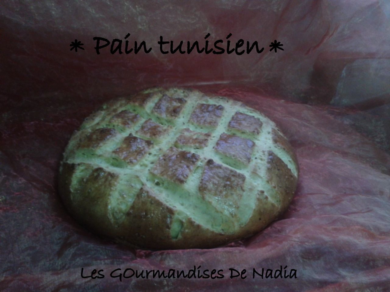 PAIN TUNISIEN