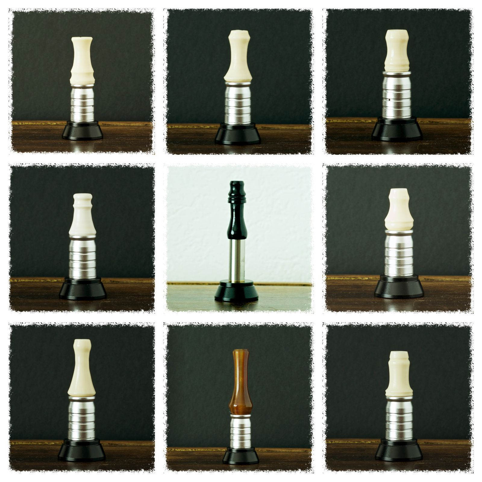 e-Huge 2x26650 et des drip tips