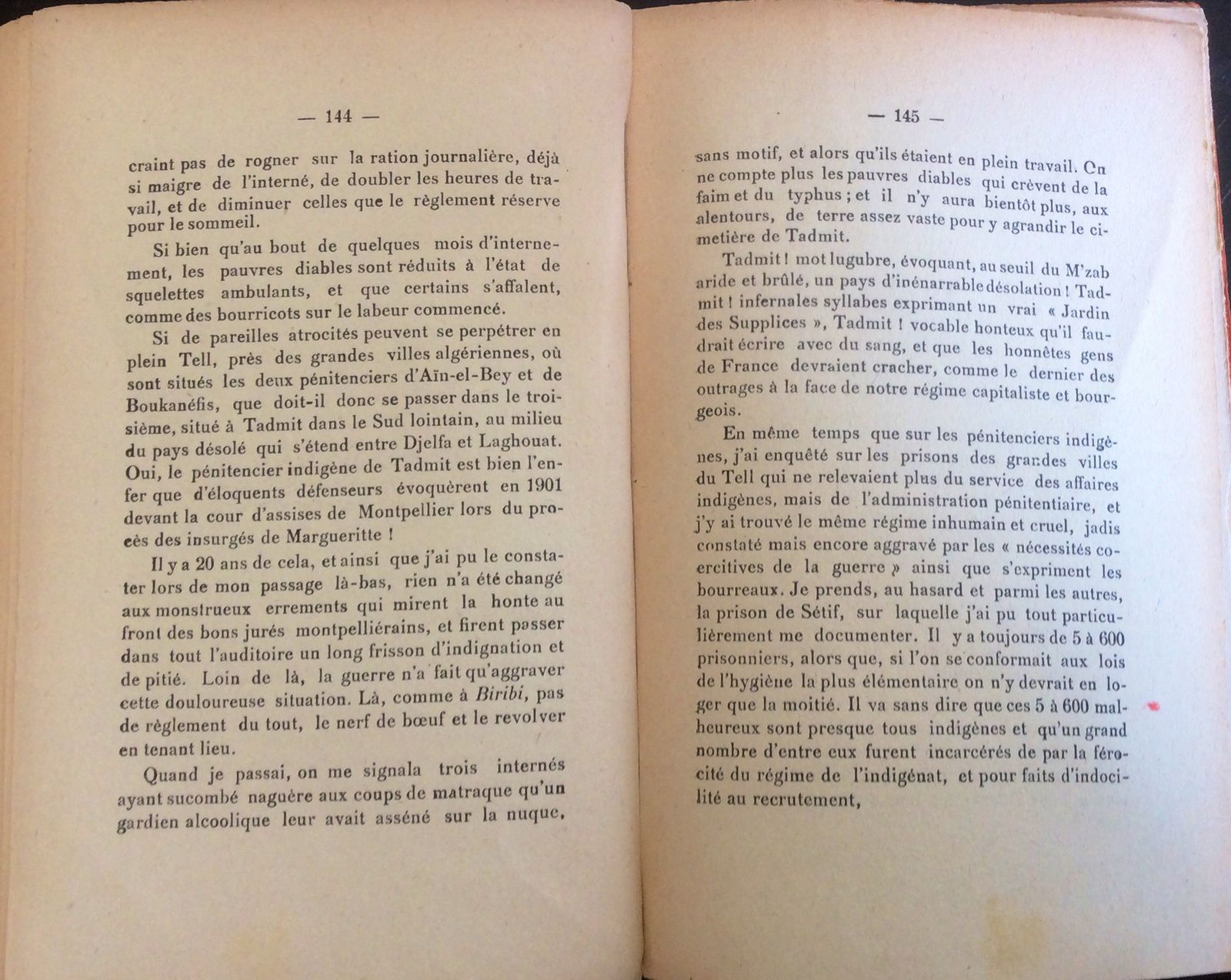 Paul Vigné d'Octon: Les crimes du service de Santé... ( Fin )