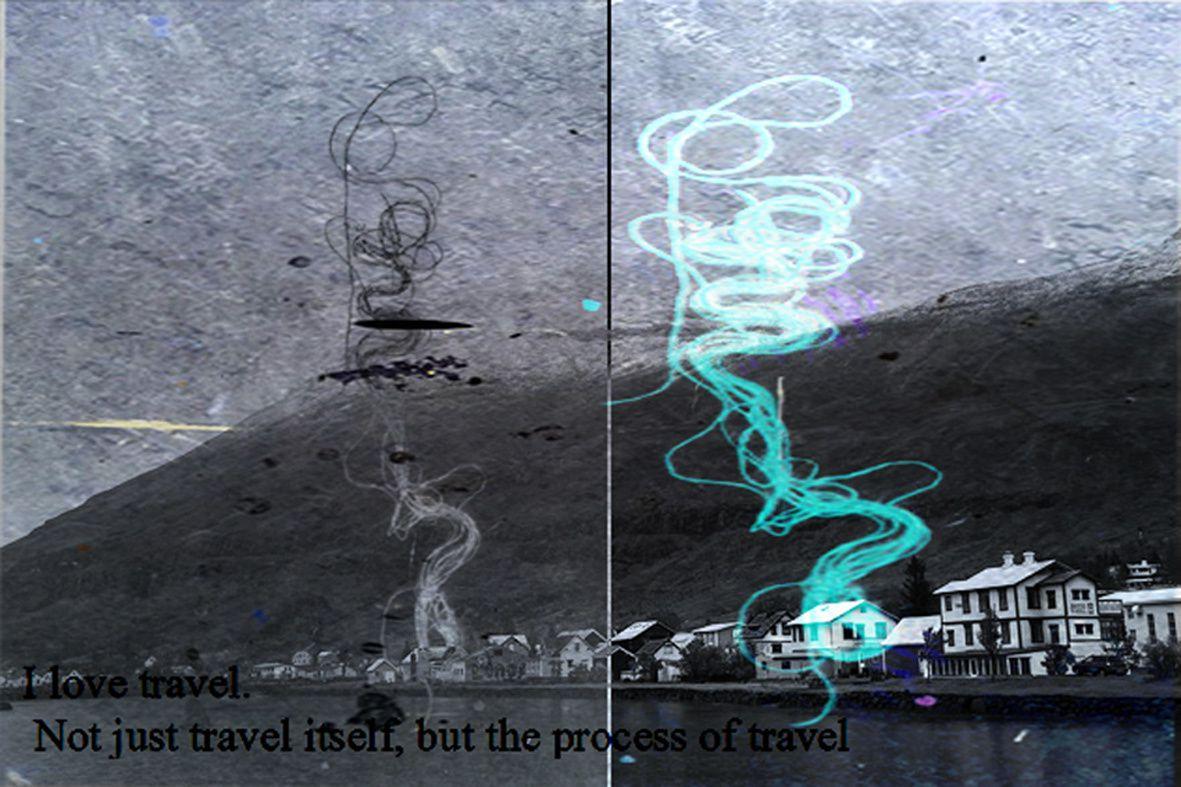 il y avait un certain temps que je n'avais repris le chemin des reliefs islandais... Ces reliefs sont la césure intellectuelle entre mon quotidien et la volonté de création.