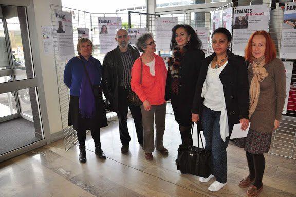 Exposition dans le Hall d'entrée de notre mairie.