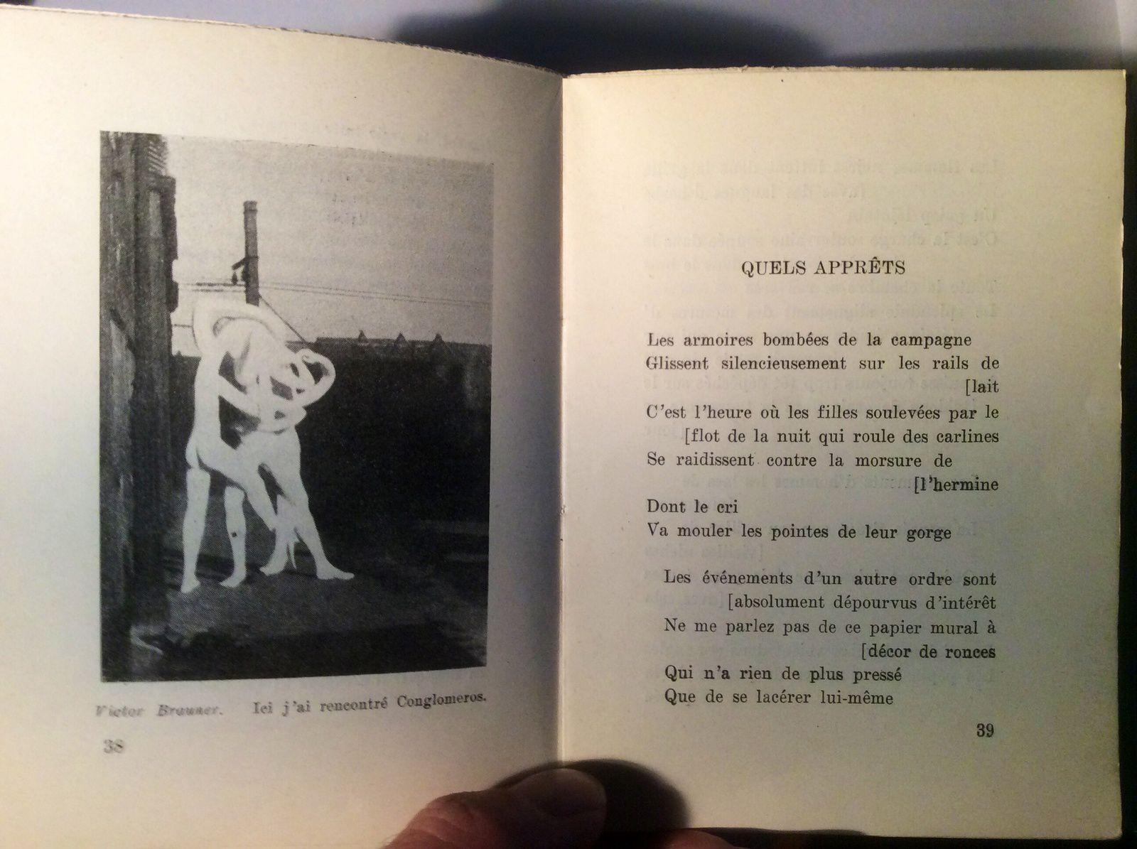 André Breton &quot&#x3B;Quels apprêts&quot&#x3B;