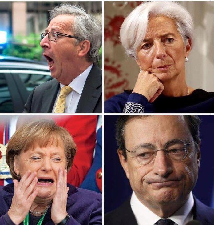 Ils se sont fait voir par les grecs!