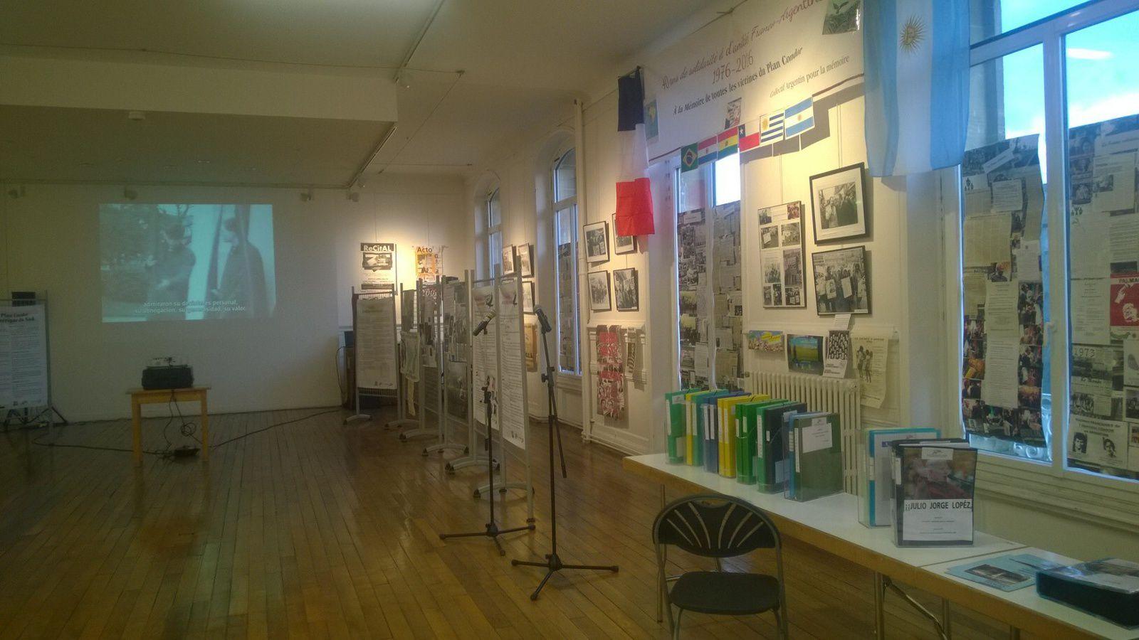 Exemplaire exposition du Collectif Argentin pour la mémoire