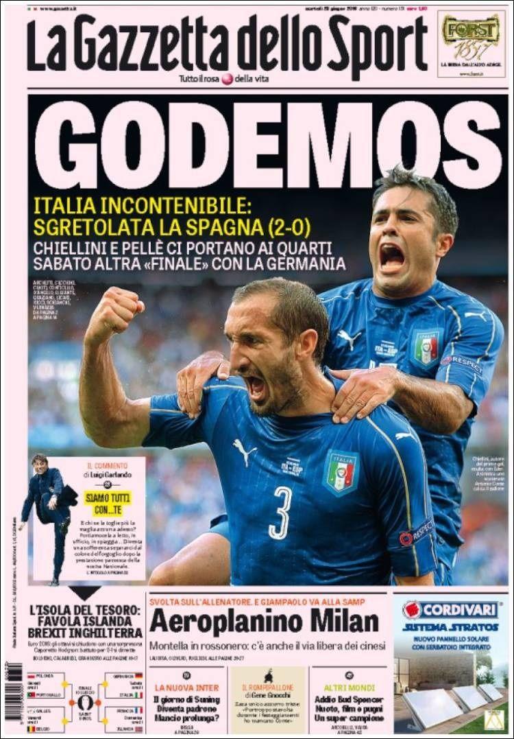 Les vainqueurs ( Italie et Islande )