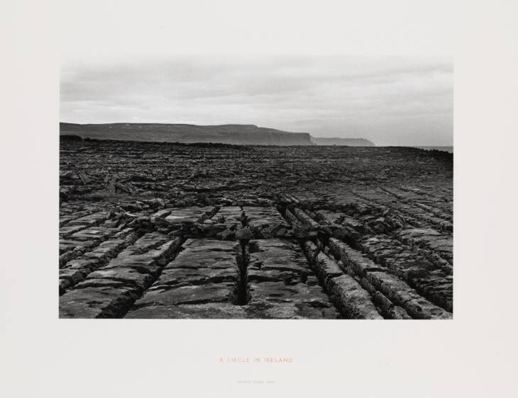 Sur les traces de Richard Long en Irlande