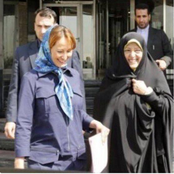 Mais là il y inconvenance totale d'une ministre de la République en déplacement en Iran. La condition féminine et l'inégalité bat de l'aile avec Ségolène Royal!