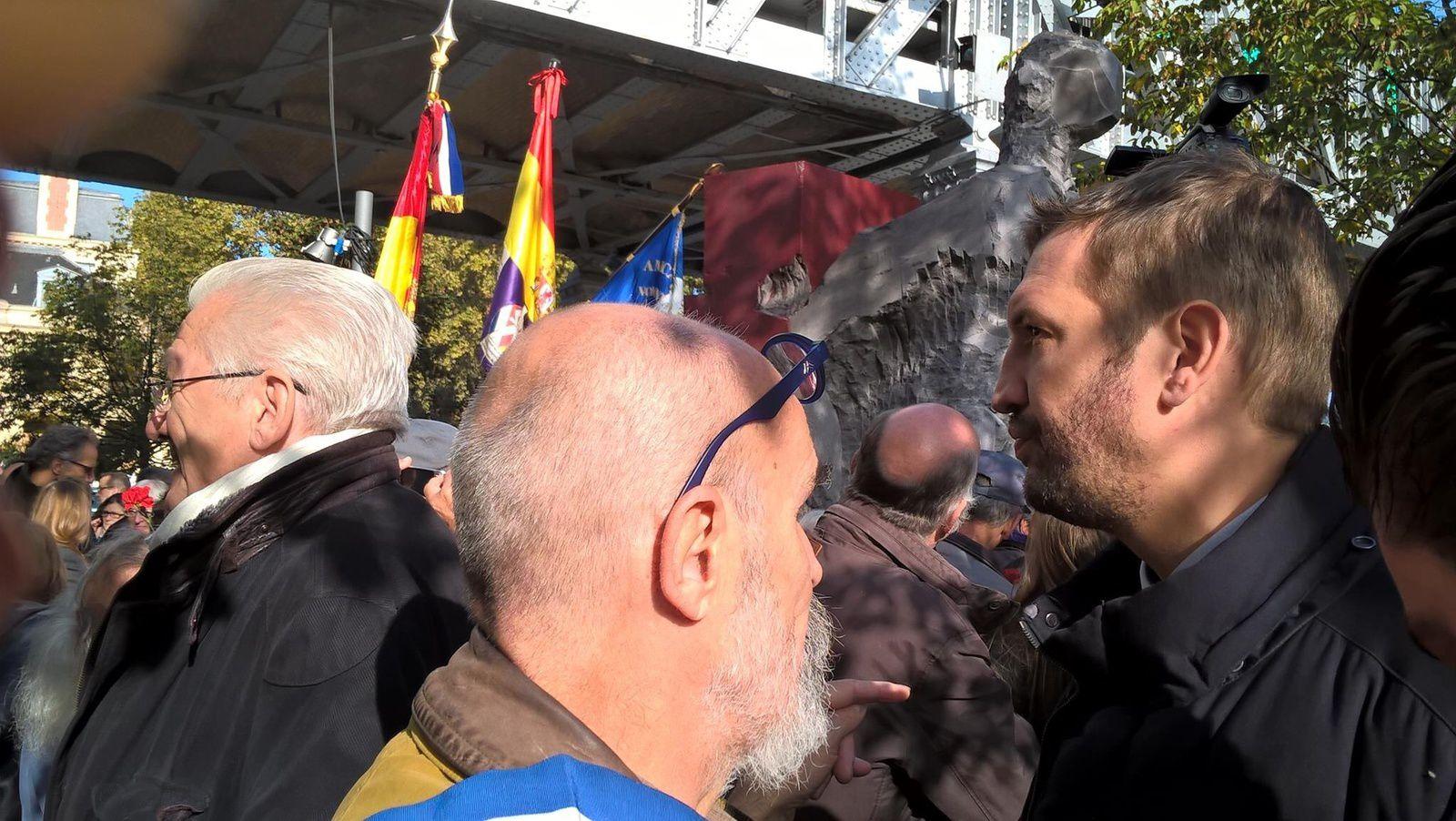 Brigades Internationales et l'hommage sculptural de Denis Monfleur