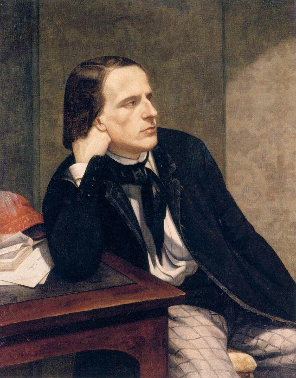 Portrait de Paul Ansout par Gustave Courbet