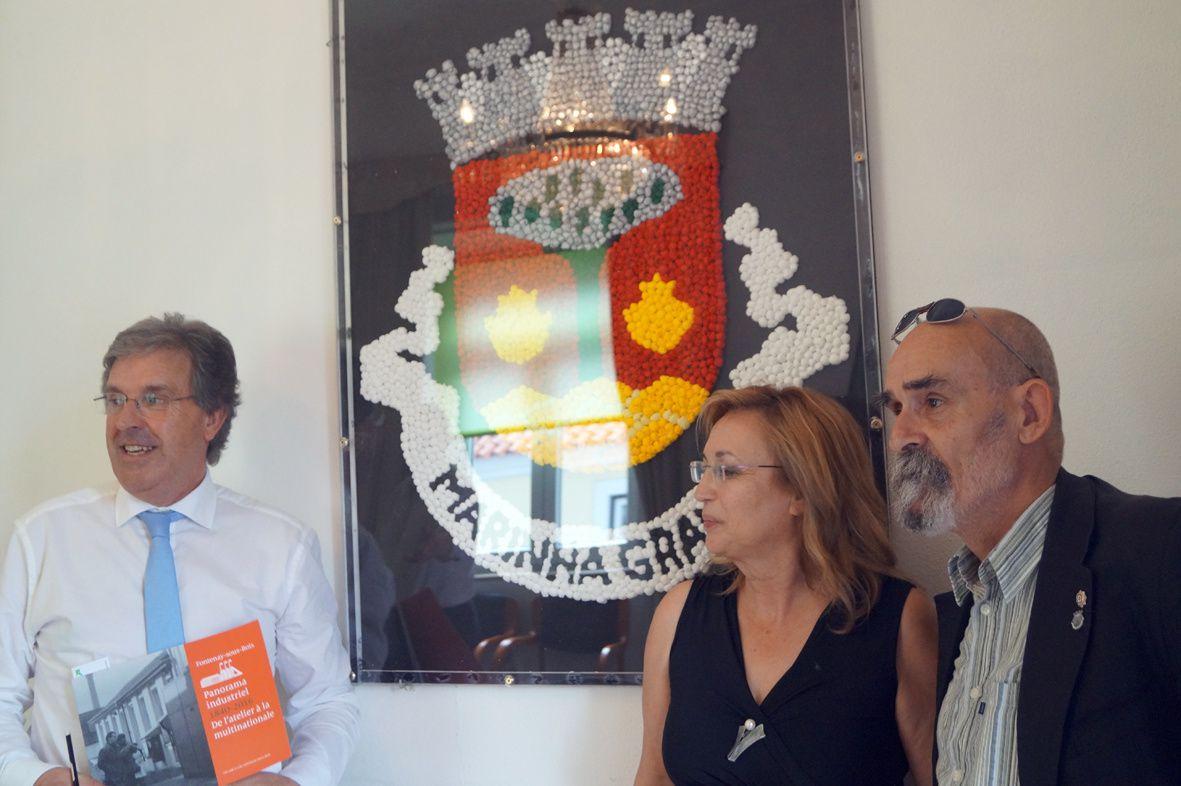 réunion de travail à Marinha Grande