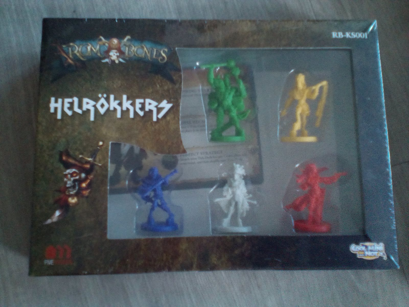 A vendre : Rum and Bones, Speak Easy, Shazamm et Dreadball