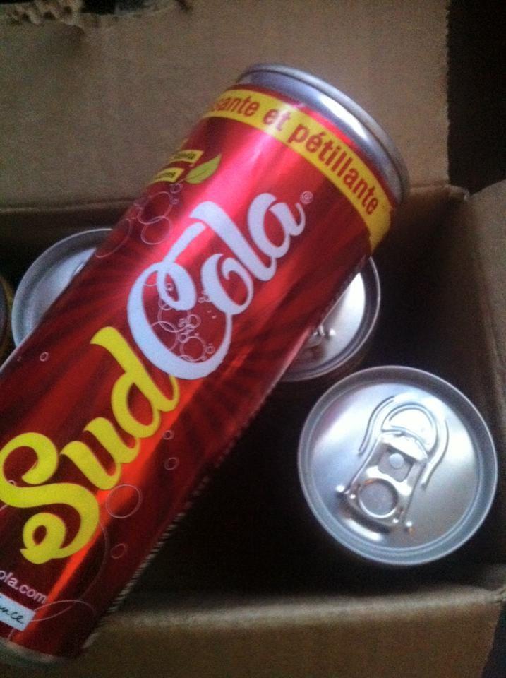 Le SudCola la boisson qui pétille à gagner sur le blog .