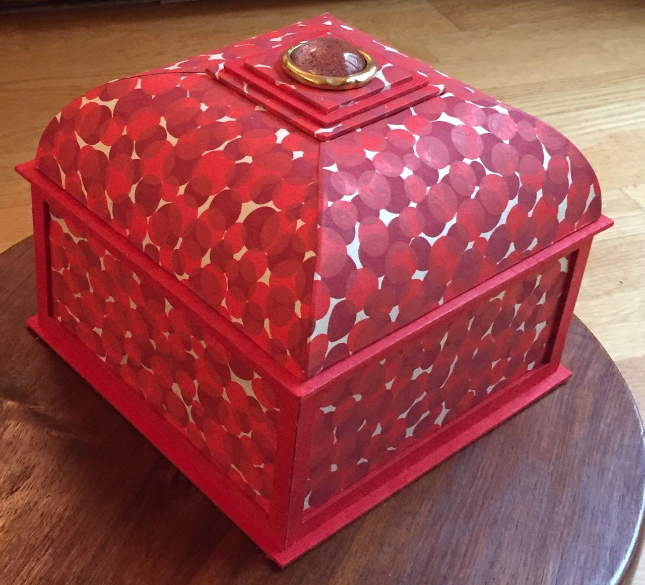 La belle boite de Marion riche en couleur...