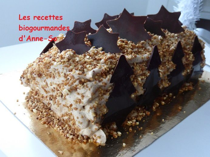 BUCHE CHANTILLY PRALINEE COMME MICHALAK