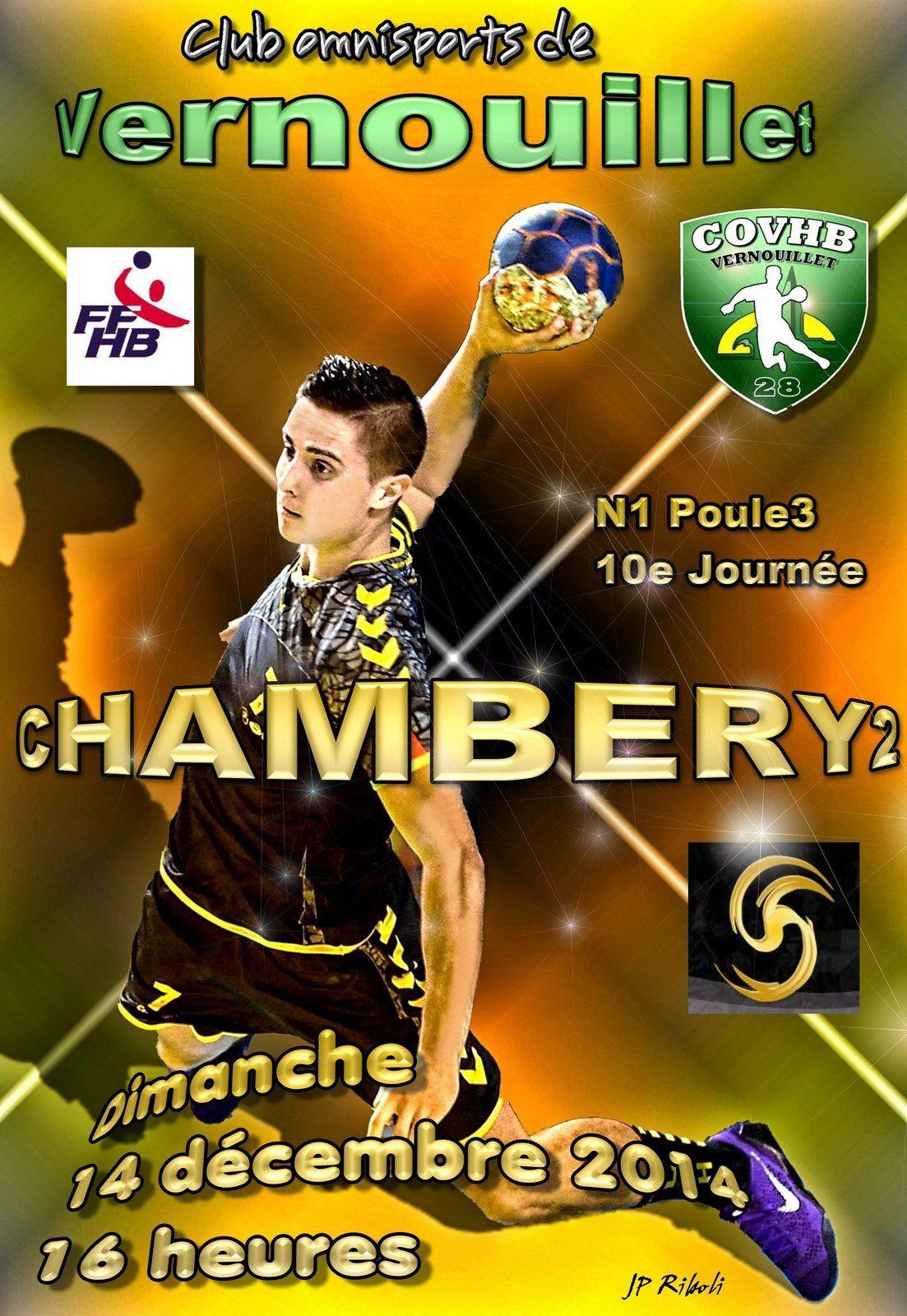 Pour CHAMBERY2 c'est direction les Yvelines dimanche 14 décembre