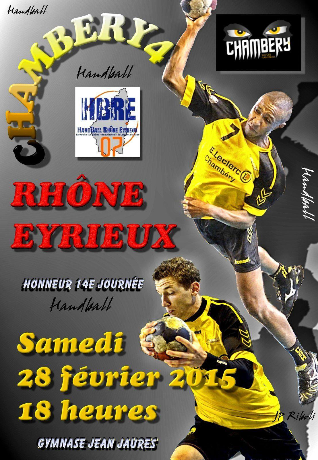 Les matchs du wek-end 28 février et 1er mars 2015