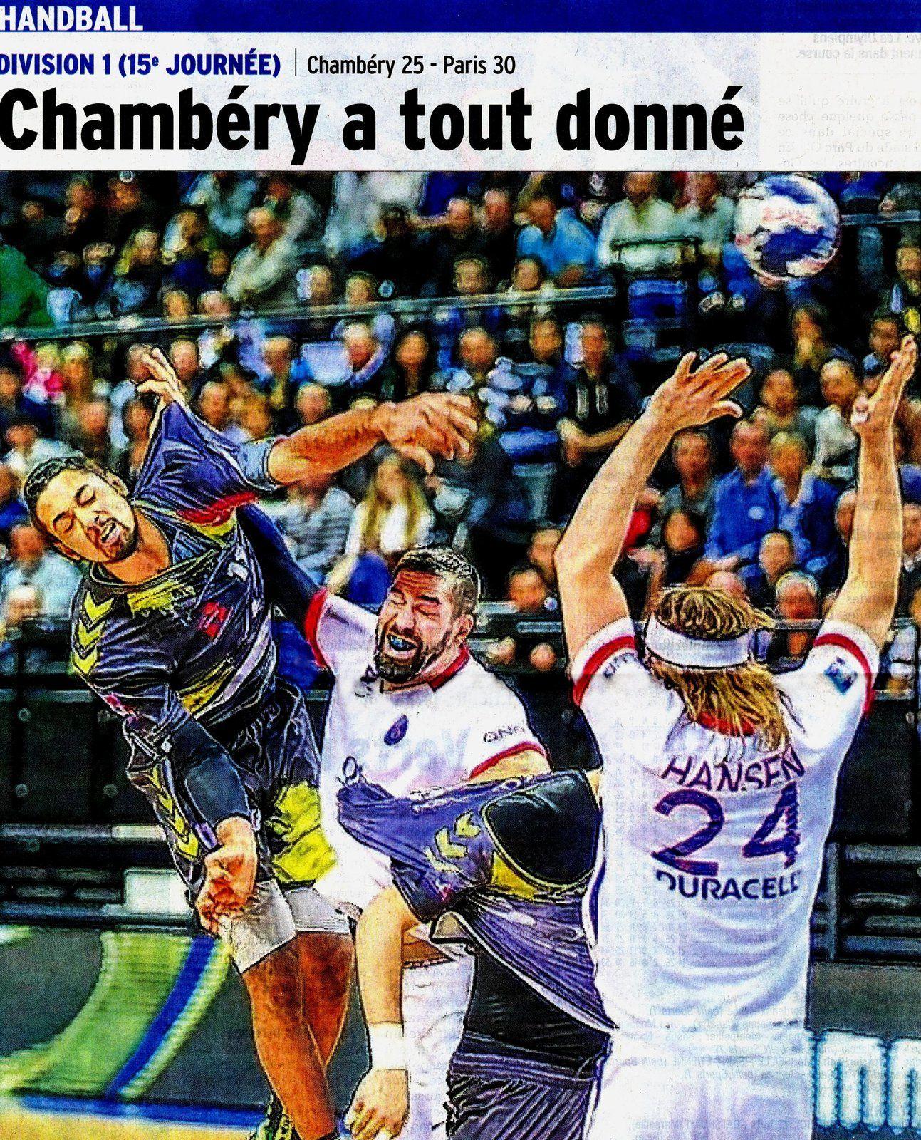 D1 CHAMBERY - PARIS sur des images de Laurent Théophile