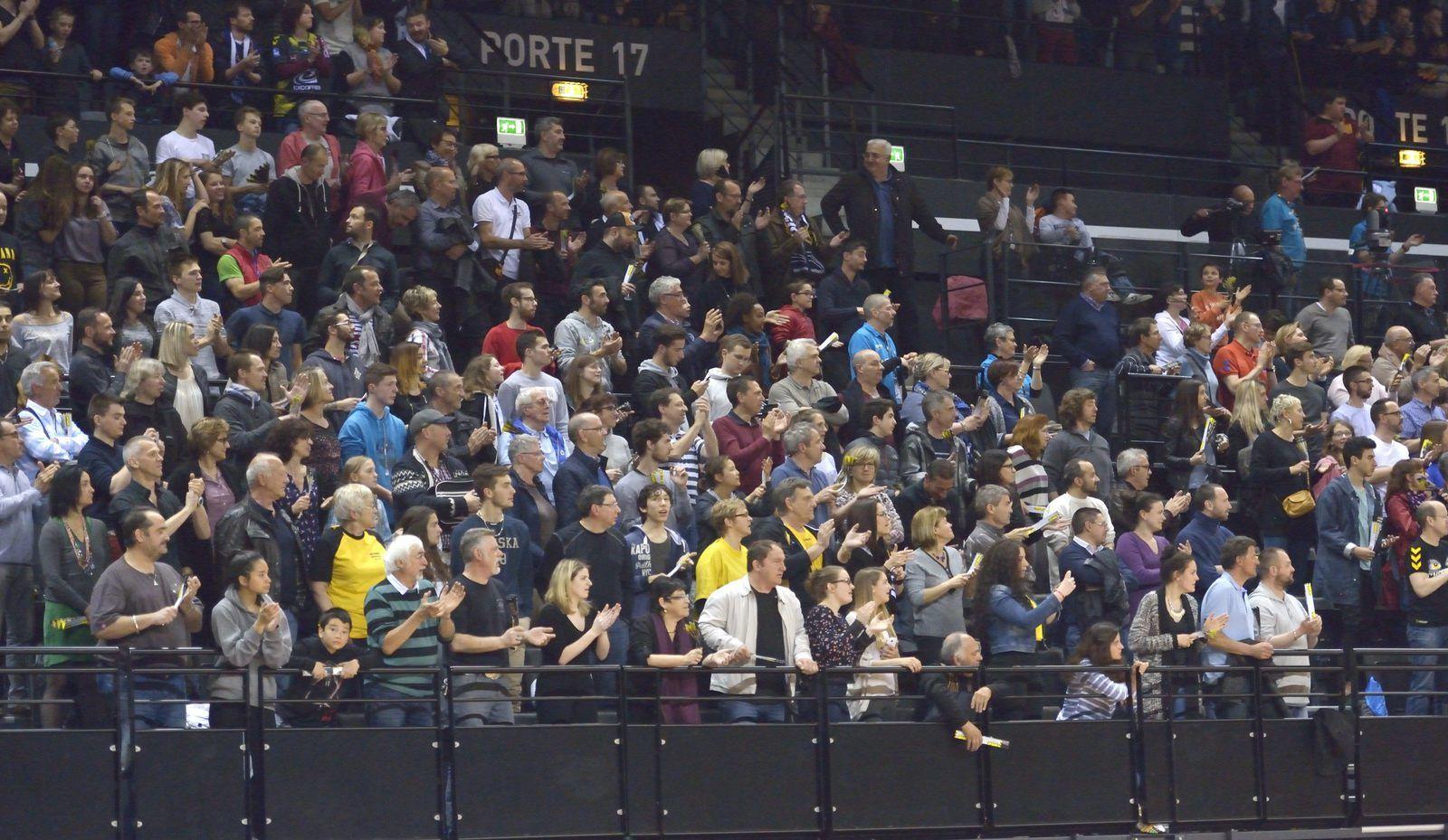 EHF direction Nantes pour Chambéry