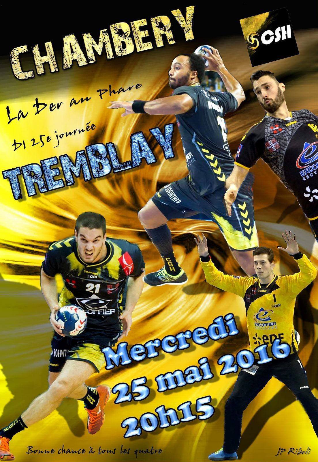 CHAMBERY / TREMBLAY J-1