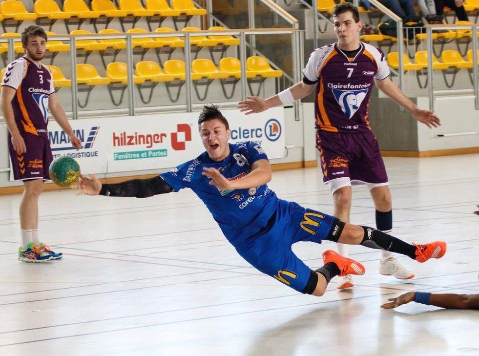 N1 Edgar Dentz arrive au centre de formation du CHAMBERY SAVOIE MONT-BLANC handball