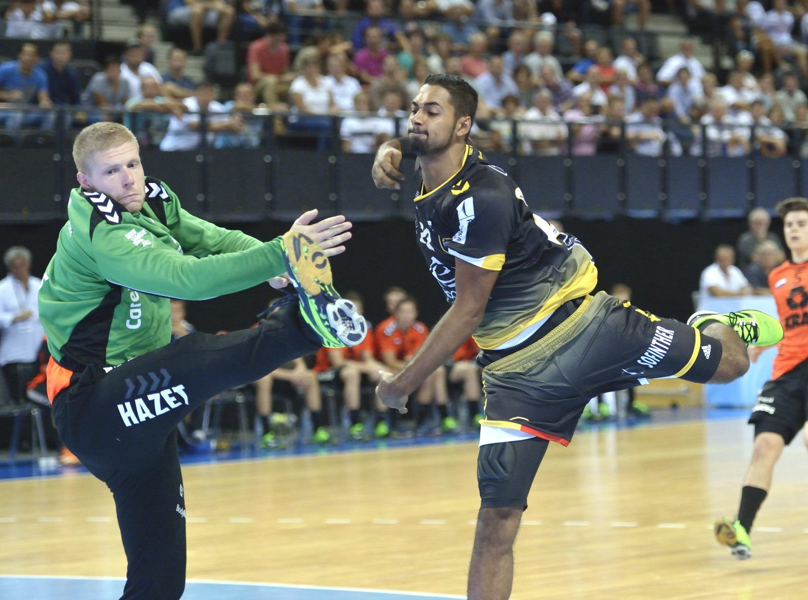 EHF/ CHAMBERY - VOLENDAM LES RECRUES FONT LEUR SHOW !