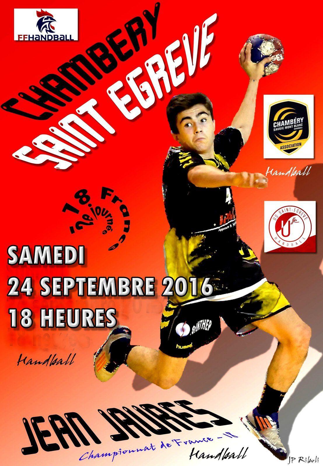 Les matches du wek-end 24 et 25 septembre 2016