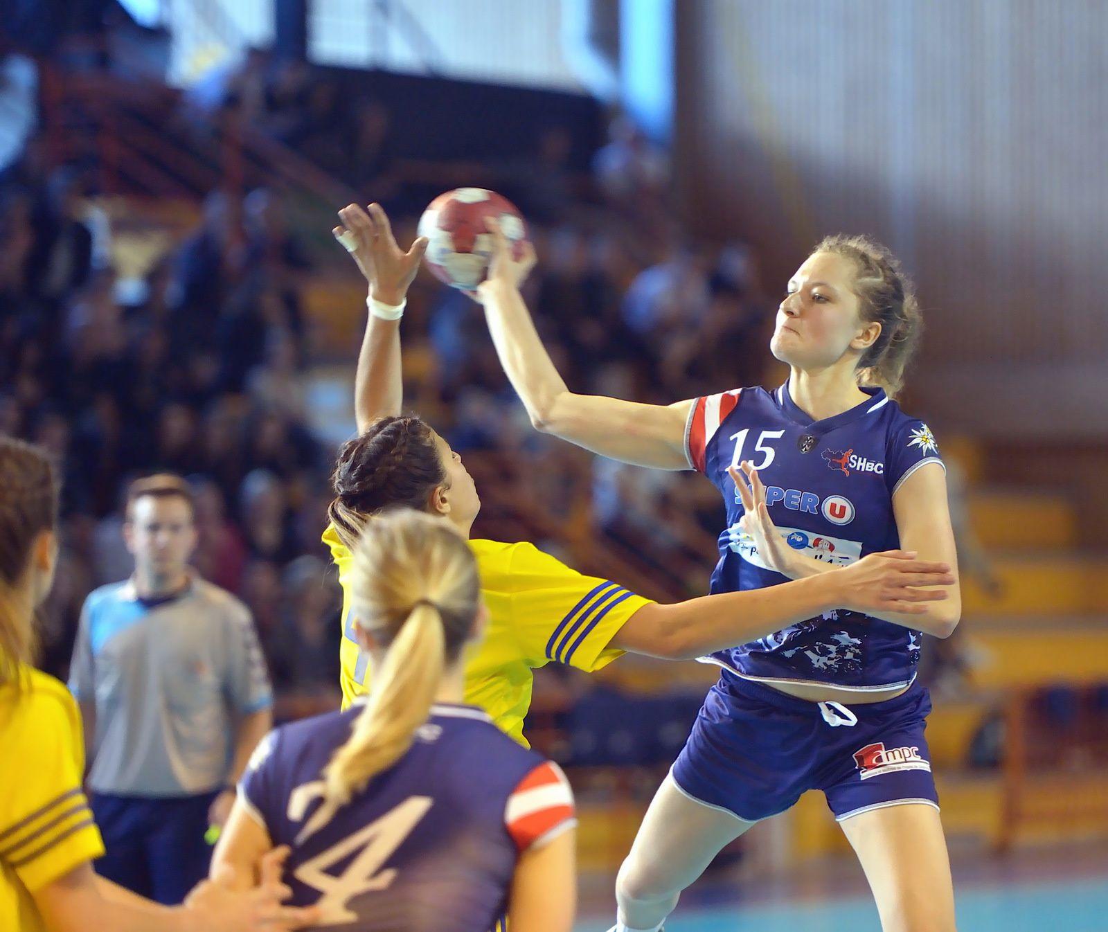 Après leur victoire contre Montpellier les – 18filles de la Motte Servolex sont en quart de finale.