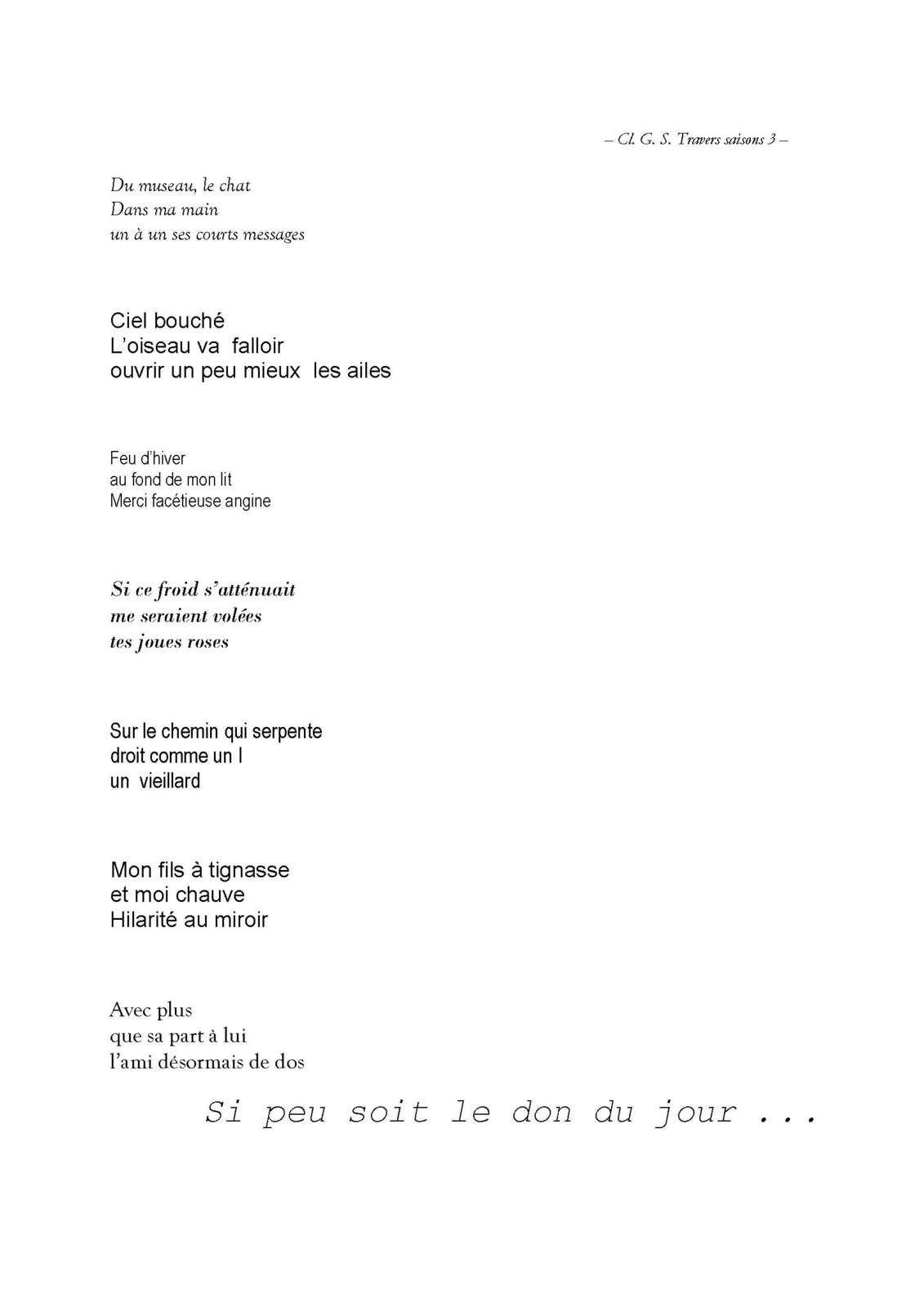 LE CAPITAL DES MOTS - CLÉMENT G. SECOND