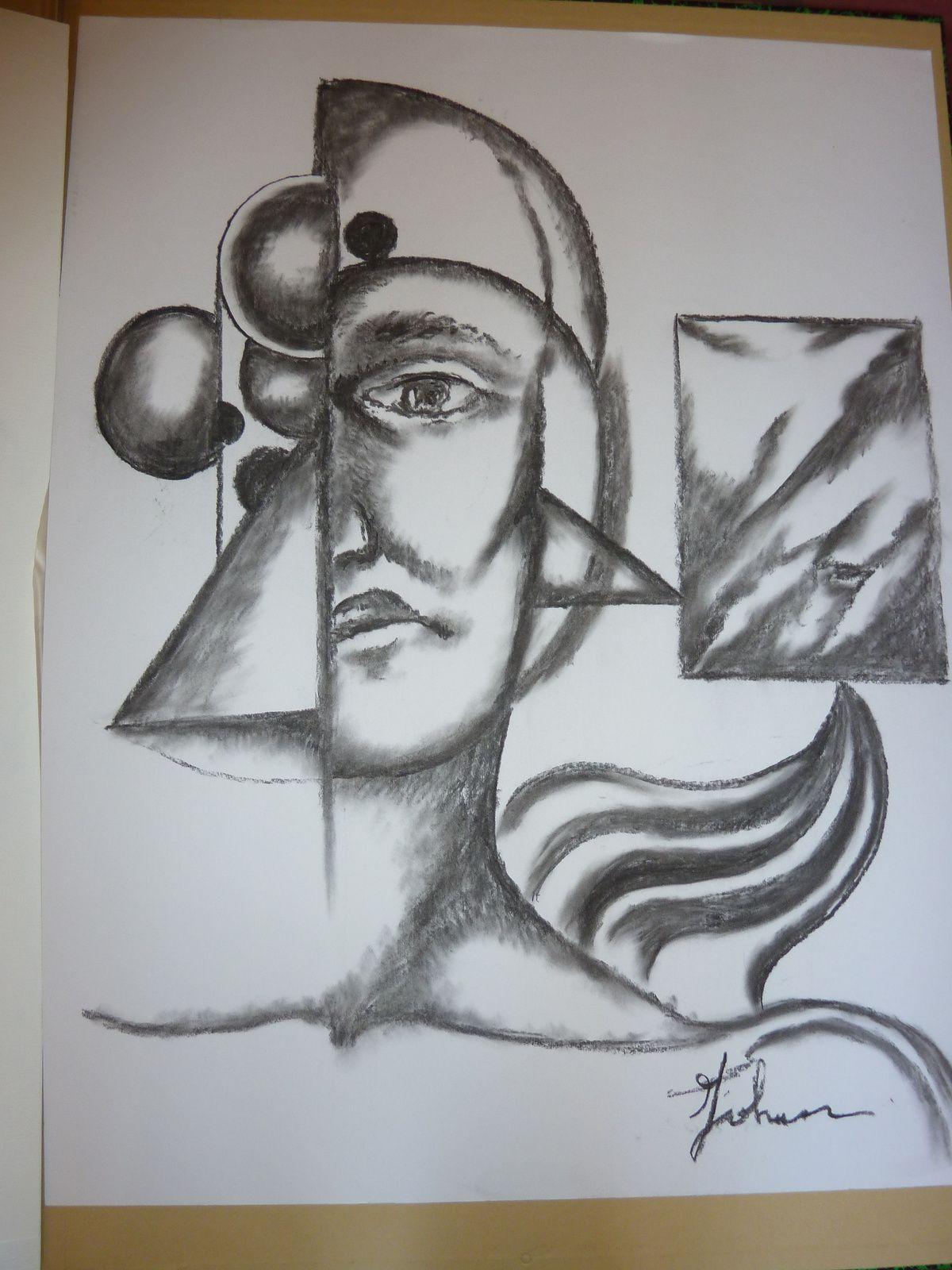Fusain sur papier © Johann, 2012 -DR