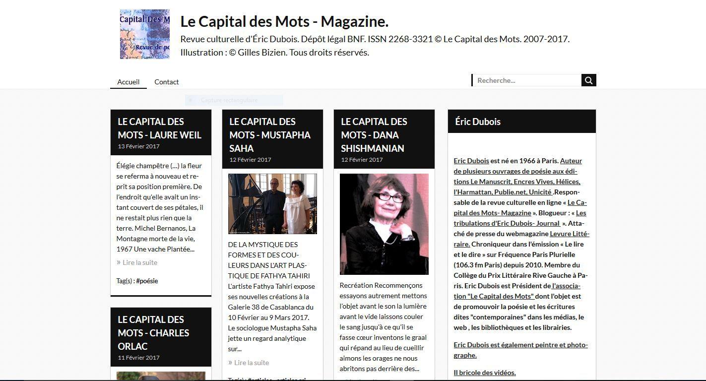 © Le Capital des Mots - DR