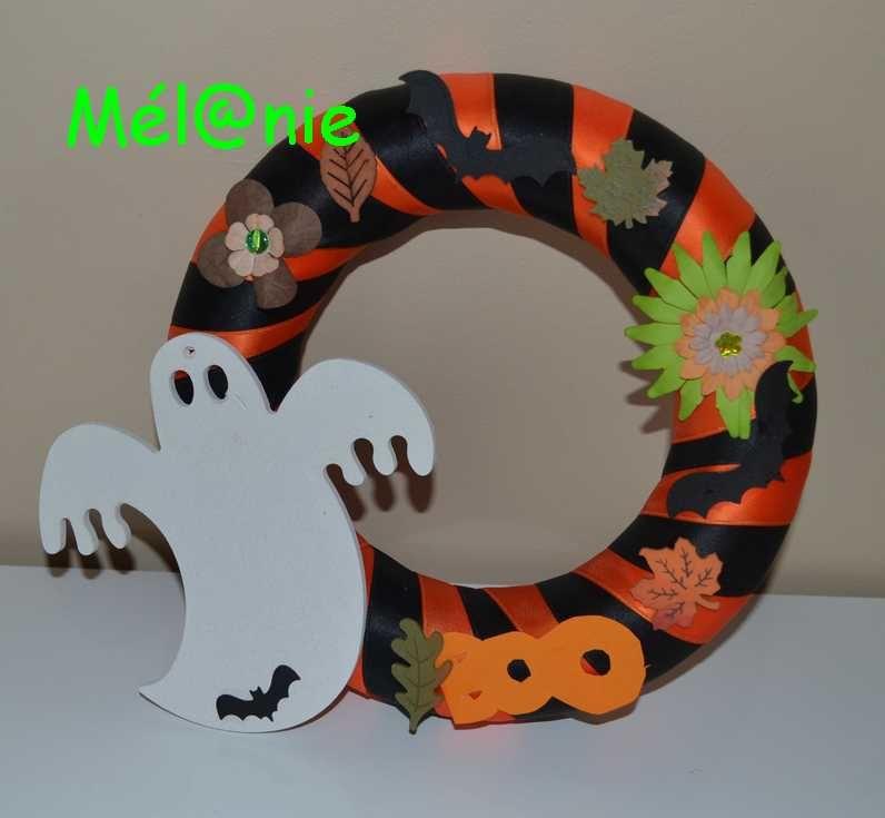 Une Couronne Pour Halloween Le Blog De Chezmel