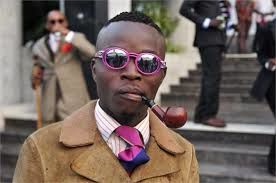 THE FABULOUS MEN OF SAPEURS (THE SOCIETY OF TASTEMAKERS AND ELEGANT PEOPLE IN BRAZZAVILLE), REPUBLIC OF CONGO