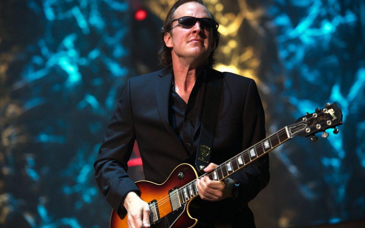 Joe Bonamassa, l'homme qui fait parler sa guitare...