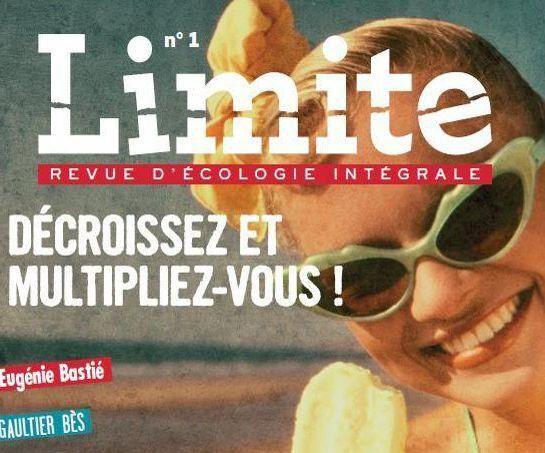 Nouvelle revue d'écologie humaine vitale !