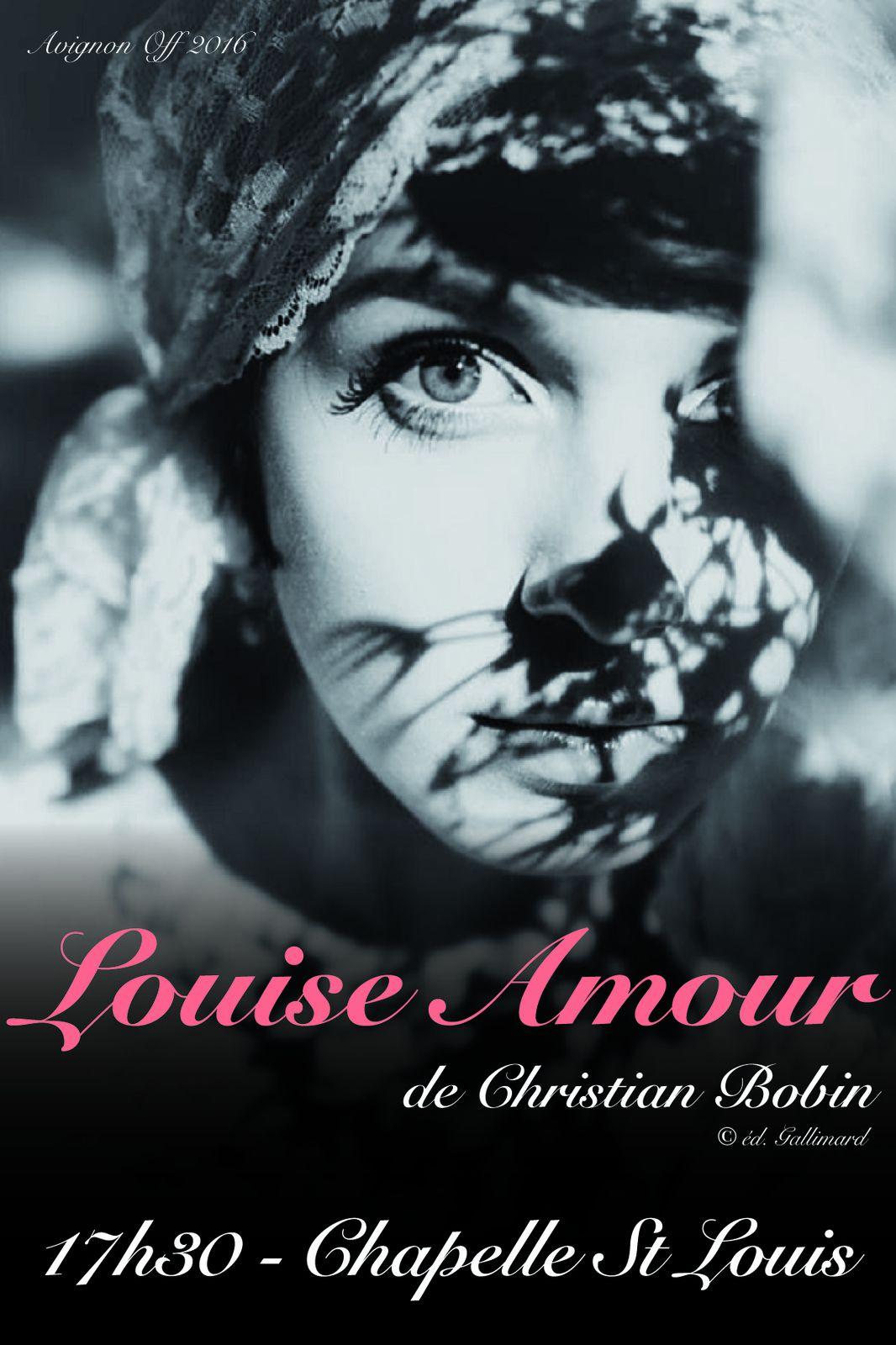 Louise Amour au Festival d'Avignon 2016