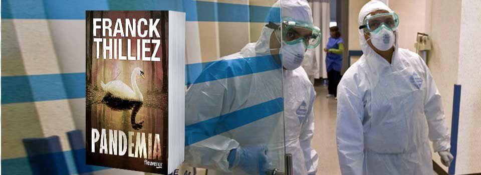 Pandemia de Franck Thilliez : Vous allez avoir peur de tousser