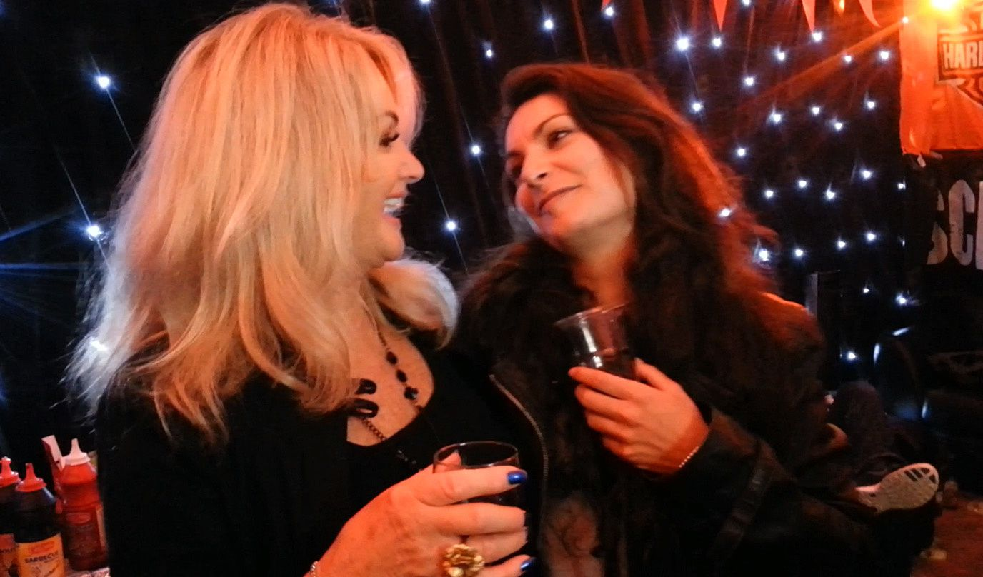 My meeting with Bonnie Tyler / Ma recontre avec Bonnie Tyler