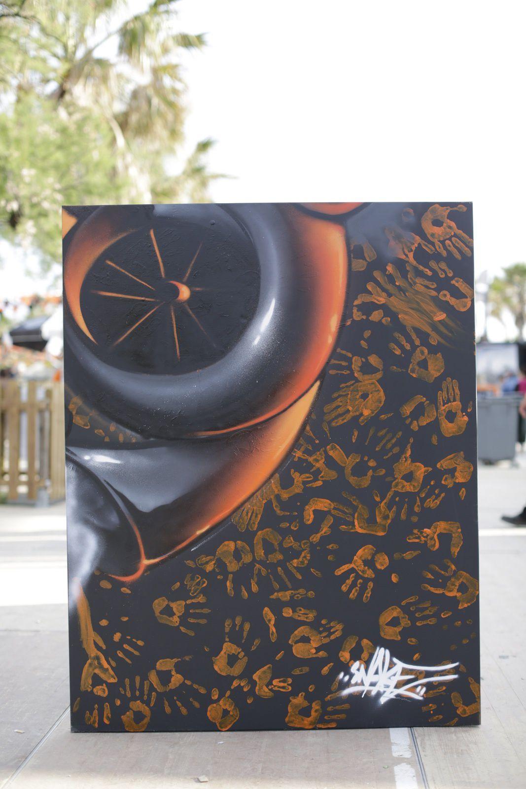 Bonnie Tyler - Autograph - Chrome&amp&#x3B;Roses - Graffeur Snake - 9/05/2014
