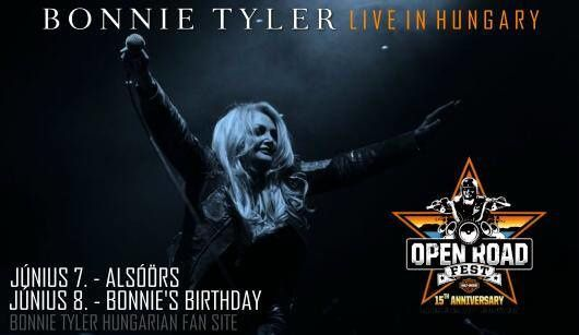 Photo: Bonnie Tyler Hungarian Fan Site