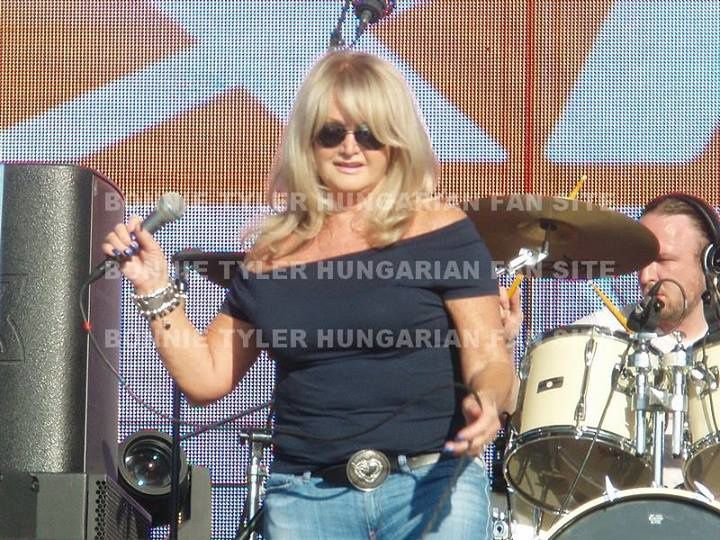 Bonnie Tyler Hungarian Fansite - Open Road Festival Harley Davidon - Lake Balaton - Alsoors - 7/06/2014