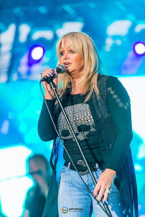 NEWS - Bonnie Tyler Live at World GP Bike Legends - Jerez - Spain - 20/06/2015