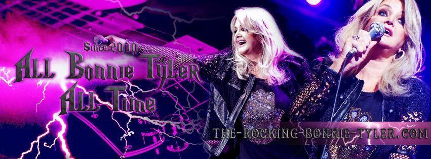 New design - Rocking Bonnie Tyler 2015