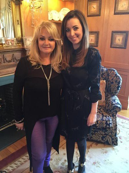Bonnie Tyler - Interview with Llinos Lee - Heno S4C - 5/02/2015 [UpDate]