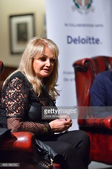 [NEW PHOTOS] Bonnie Tyler at Cambridge Union Society - 3/03/2015