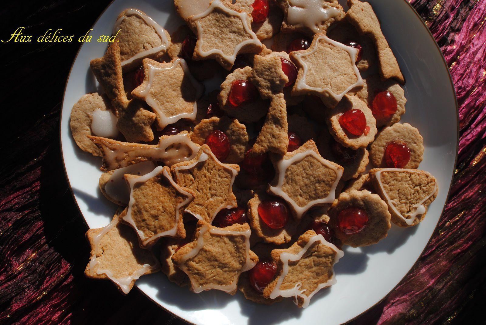 Biscuits sablés de noël .